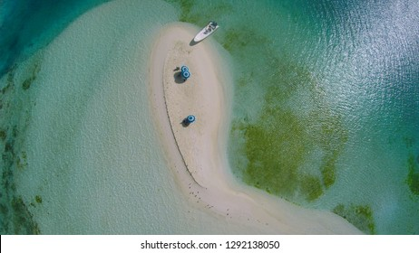Drone photography of Los Roques, Venezuela