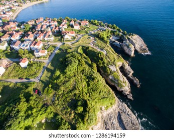 Drone picture of Kerpe Kocaeli Turkey.