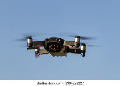 Drone - quadcopter with digital camera