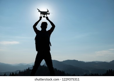 drone usage, piloting, orientation and professionalism