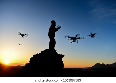 drone use in harsh conditions in mountains