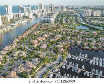 Drone/aerial photography- Hollywood, Florida, USA