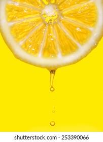 Drop lemon