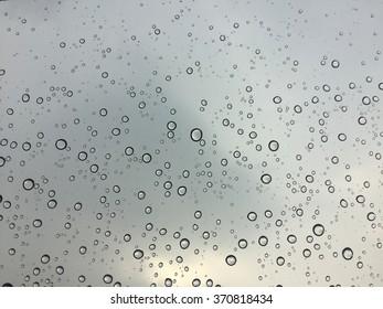 drop on window