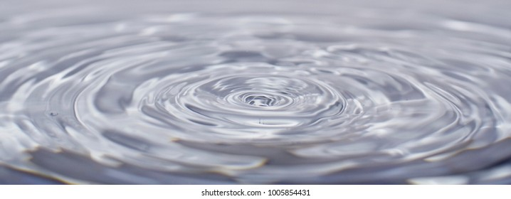 drop of water, texture of waves