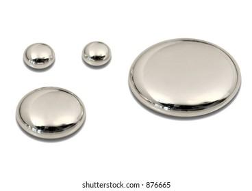 drops of mercury (hg)
