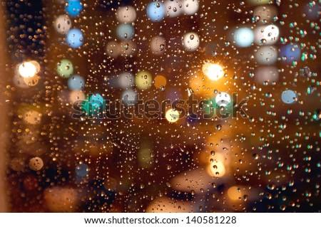 drops-night-rain-on-window-450w-14058122
