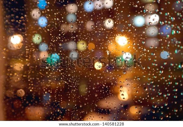 drops-night-rain-on-window-600w-14058122