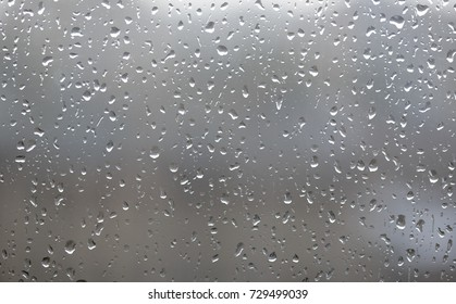 Drops on the window, high resolution background