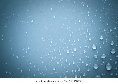 Drops of water on background