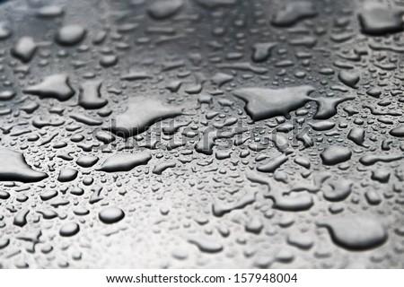 Drops Water On Floor Stock Photo Edit Now 157948004 Shutterstock