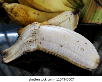 Drosophila on ripe banana in the kitchen are it contagion come to man