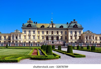 Drottningholm palace in Stockholm, residence of the royal family