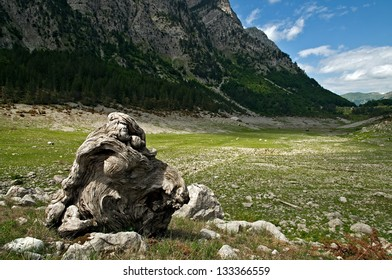 Drought in the Albanian Alps
