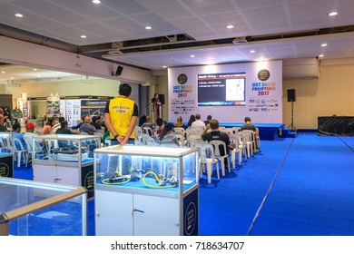 The DRT(Diving Resort Travel) Show at SM Megamall on Sep 9, 2017 in Metro Manila, Philippines