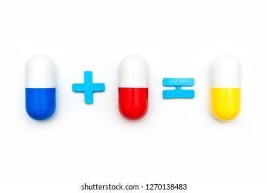 Drug combinations and repurposing for develop novel drug