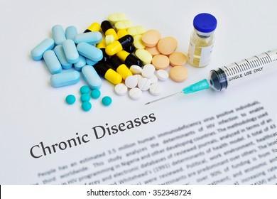 Drugs for chronic diseases treatment