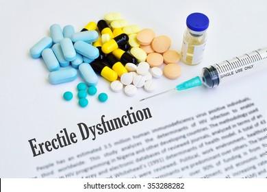 Drugs for erectile dysfunction (ED) disease