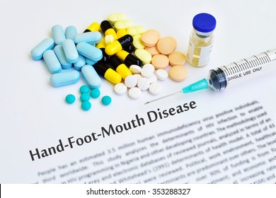 Drugs for Hand Foot and Mouth disease