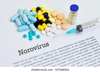 Drugs for Norovirus treatment
