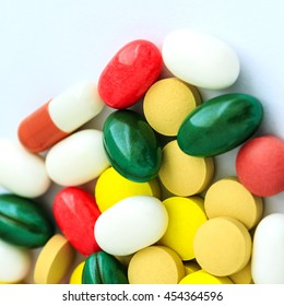 Drugs And Pills Background / Drugs and Pills