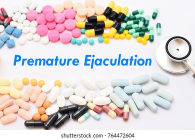Drugs for premature ejaculation treatment