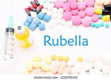 Drugs for rubella virus treatment