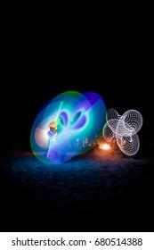 Drum circle lights
