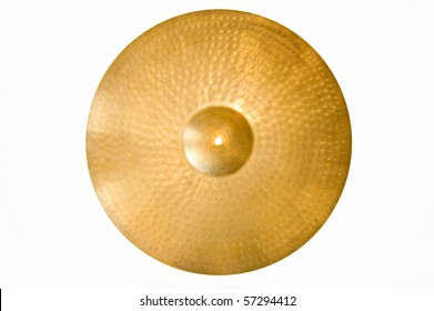 Drum conceptual image. Picture of cymbal.