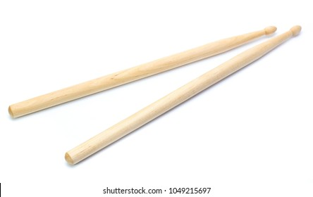 Drum stick isolated on white background
