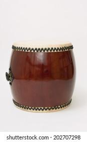 "Drum traditional Japan. I call ""Wadaiko""."