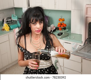 Drunk Woman Images, Stock Photos & Vectors | Shutterstock