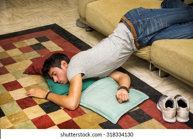 People Sleeping On Floor Stock Photos Images Photography
