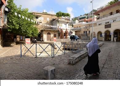 Druze women from Peki'in - Druze Town
