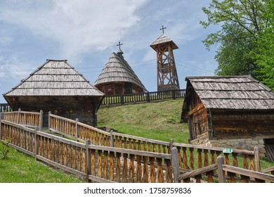 Drvengrad, Zlatibor District, Serbia - traditional ethno village build for Emir Kusturica's film Life is a Miracle