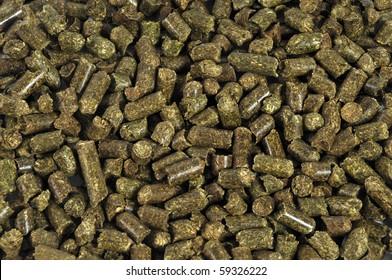 Dry Alfalfa animals food