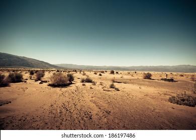 Dry & barren land terrain like Mars