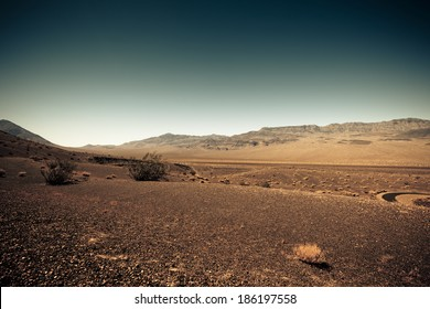 Dry & barren land terrain like Mars