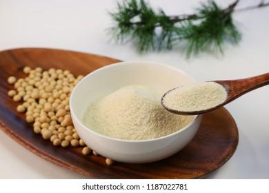 Dry bean curd powder