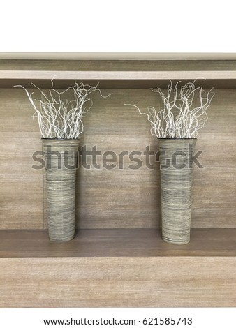 Dry Branches Vases Indoor Decoration Modern Stock Photo Edit Now