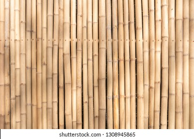 Dry brown bamboo pattern with shadow on bamboo.