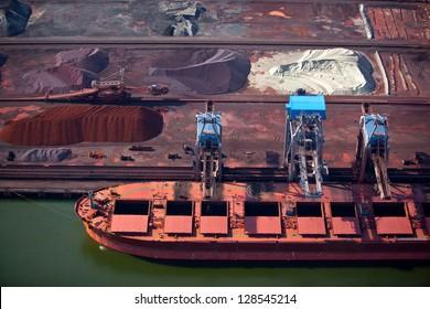 Terminal de port en vrac sec