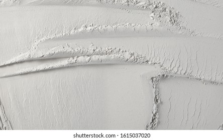 Dry cement, plaster powder background and texture