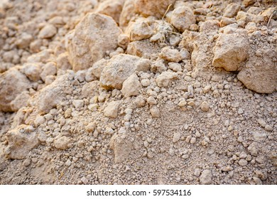Dry clay loam