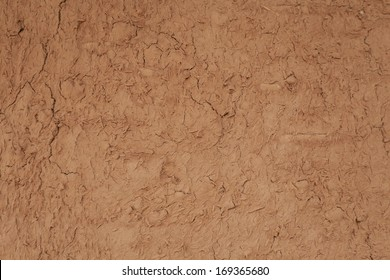 Dry cracked clay background