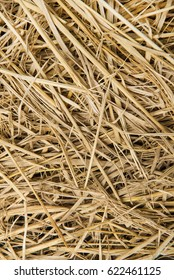 Dry crops for animal feed.