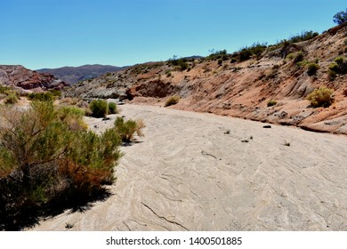 Dry Floodplain at Red Rock Canyon State Park, CA