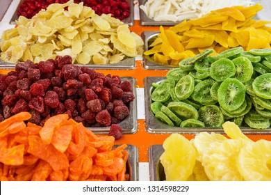 Dry fruits in Dubai market