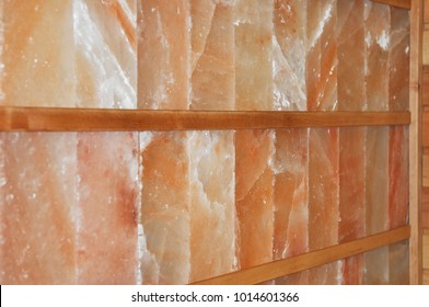 Dry Himalayan Salt Sauna Wall. An infrared himalayan salt sauna uses heaters to emit an infrared radiant for salt therapy.