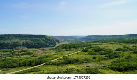 Dry Island Buffalo Jump Provincial Park is a provincial park in Central Alberta, Canada, located about 103 km southeast of Red Deer and 16 km east of Trochu.